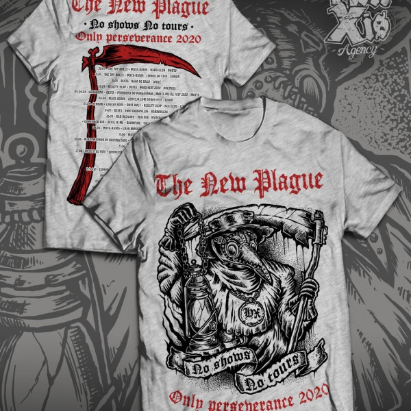 MOCKUP_T-SHIRT CINZA PLAGUE
