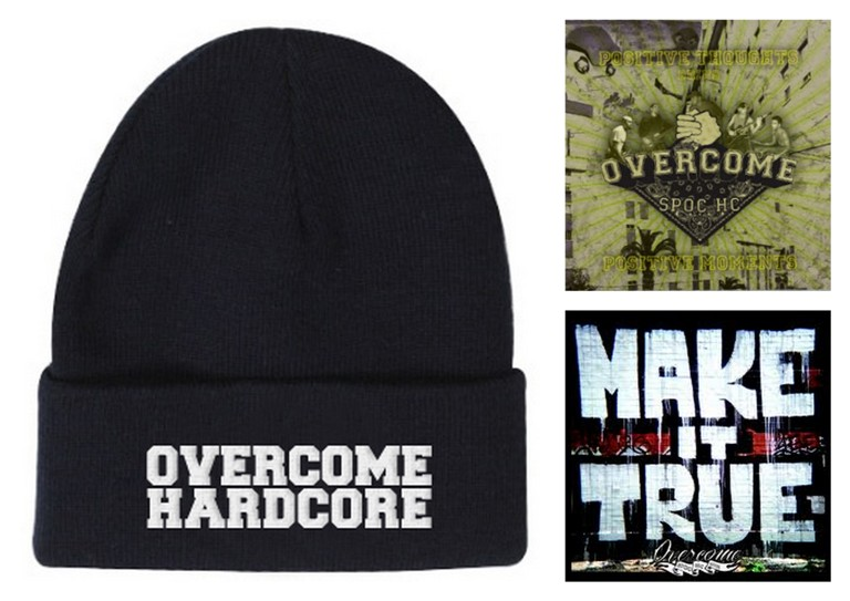 Pack OVERCOME – Gorro + 2 CD´s