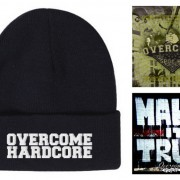 Pack OVERCOME &#8211; Gorro + 2 CDs